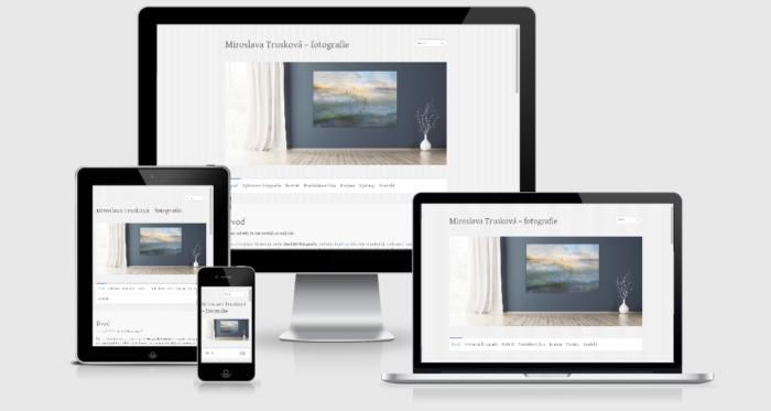 Zobrazení webu na různých zařízeních
